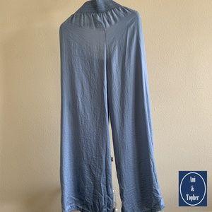 Tahari Womens Blue Sleepwear Pants Size Large